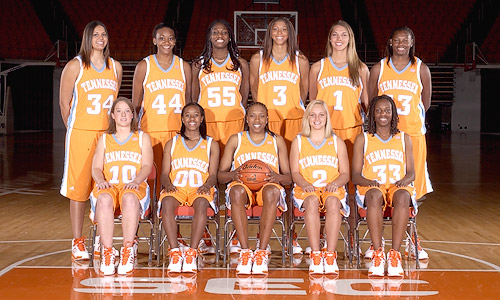 2006-2007 Lady Vols Basketball Roster