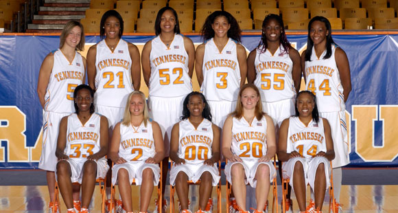 2007-2008 Lady Vols Basketball Roster